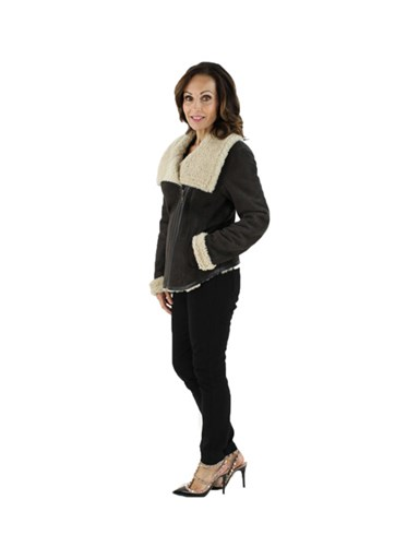 Shearling Lamb Fur Jacket