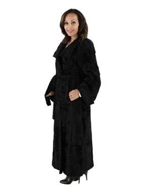 Swakara Russian Lamb Fur Coat
