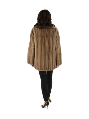 Autumn Haze Mink Fur Jacket