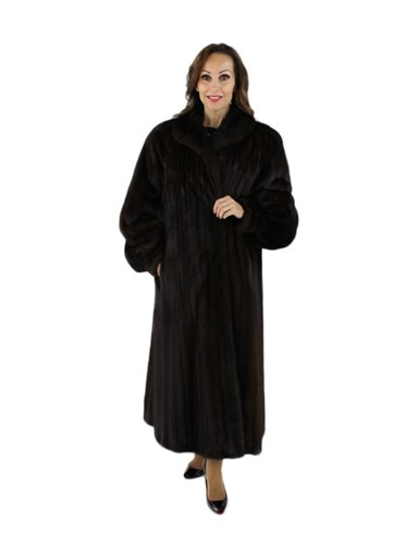 Female Mink Fur Coat