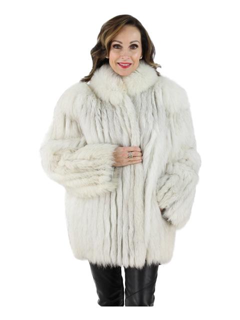 Blue Fox Cord Cut Jacket