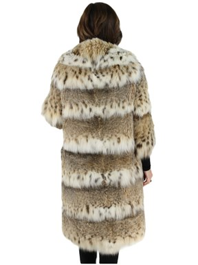 Cat Lynx Fur 7/8 Coat