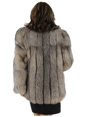 Crystal Fox Fur Stroller