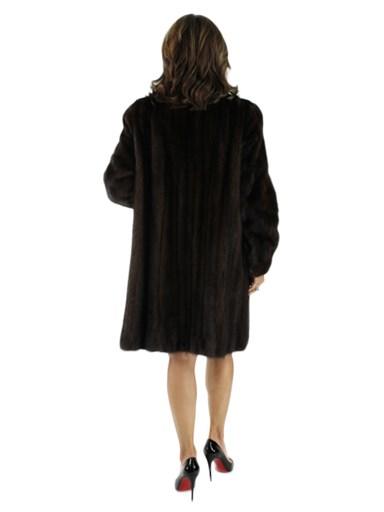 Female Mink Fur Stroller
