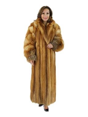 Red Fox Fur Coat