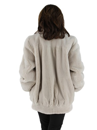 Sheared Beaver Fur Jacket