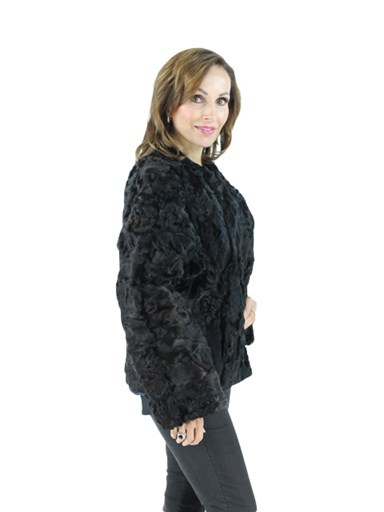 Women's Persian Lamb Fur Jacket