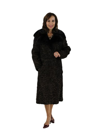 Persian Lamb Fur Coat