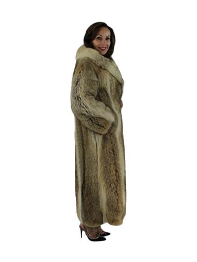 Natural Coyote Fur Coat