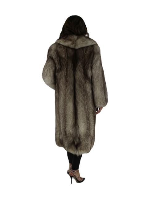 Cross Fox Coat