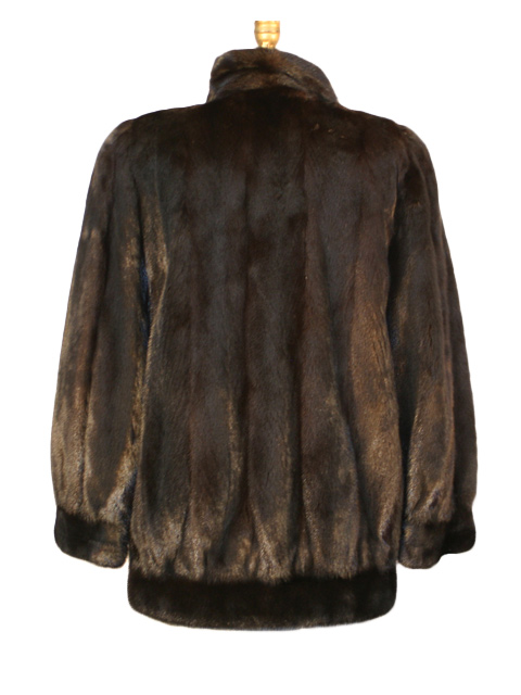 Ranch Mink Zipper Jacket