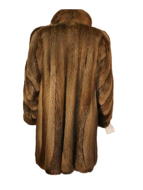 Coyote Fur Coat Womens Large Estate Furs >> Beaver Fur Swing Fur Coat Women S Large Estate Furs