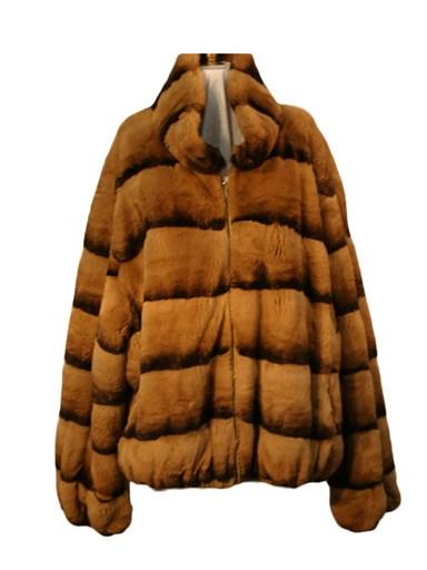 Rex Rabbit Fur Reversible Jacket