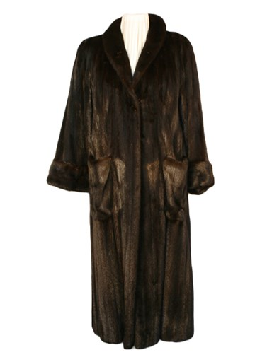 Teso Ranch Mink Fur Coat