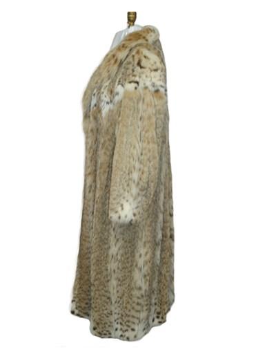 Lynx Cat Fur Coat