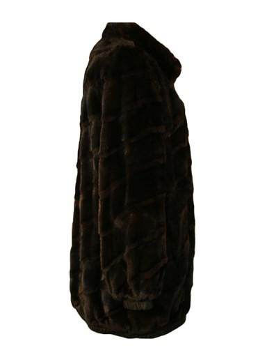 Mink Fur Reversible Jacket w/ Sheared Beaver Trim