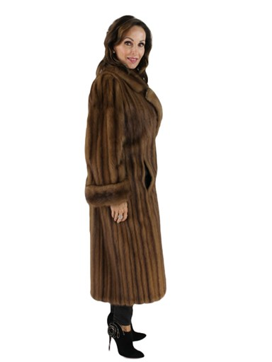 Demibuff Mink Fur Coat