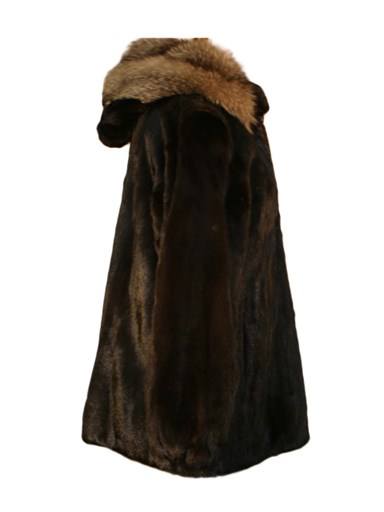 Mink Fur Jacket w/ Detachable Hood