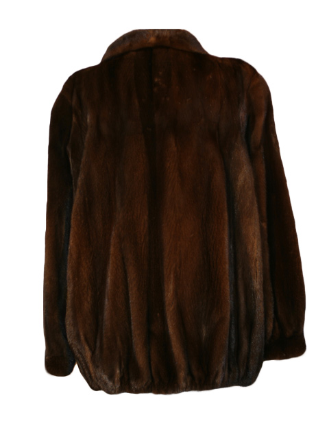 Mahogany Mink Jacket