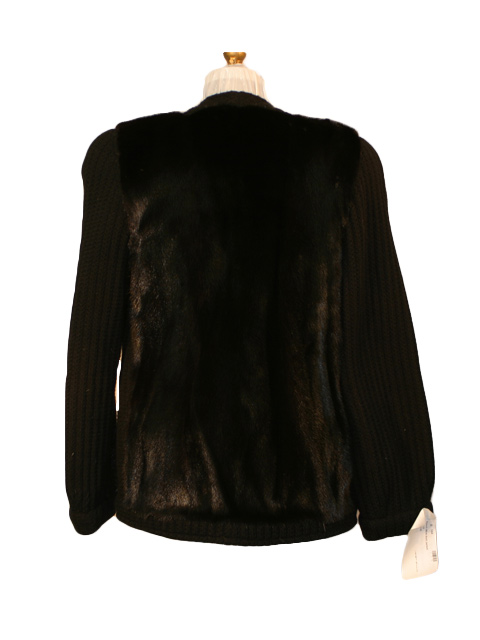 Ranch Mink Knit Jacket