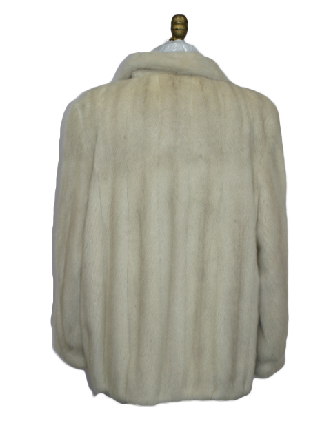 Tourmaline Mink Fur Jacket