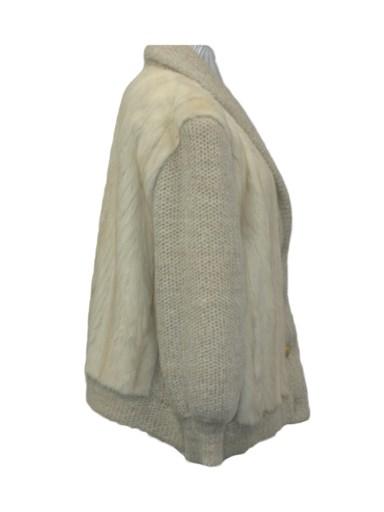Mink Fur Knit Jacket