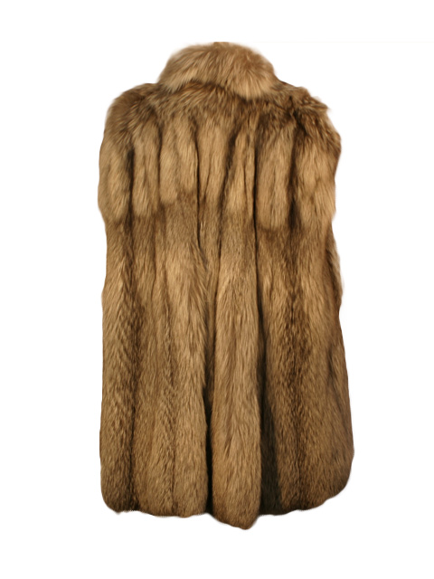 Pearl Fox Fur Cape