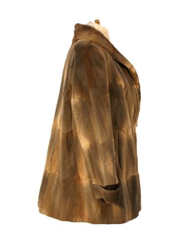 Muskrat Fur Jacket