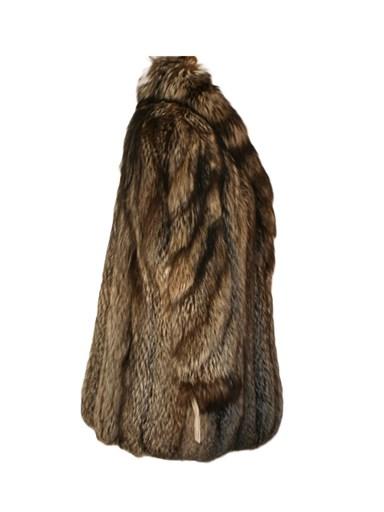 Silver Fox Fur Stroller
