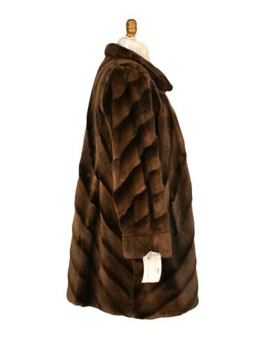 Sheared Beaver Fur Stroller