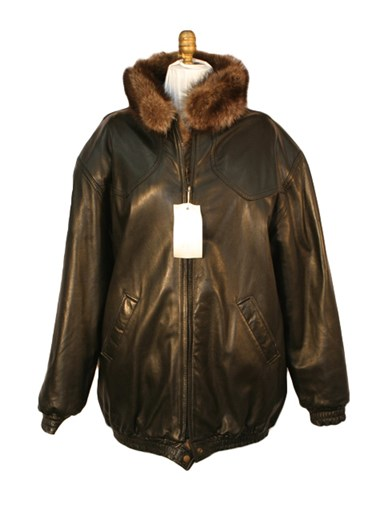 Raccoon Reversible Fur Jacket