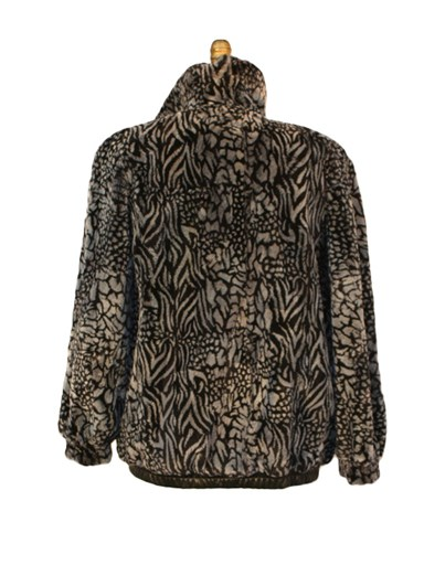 Sheared Beaver Fur Reversible Jacket
