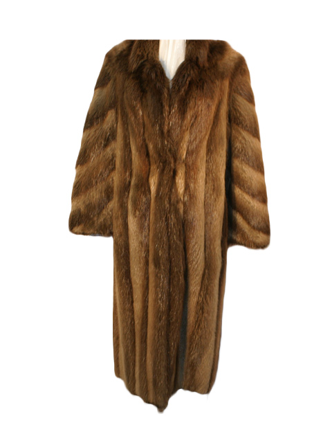 Beaver Fur Coat Women S Large Estate Furs