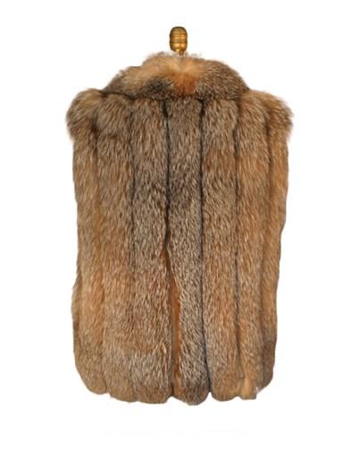 Crystal Fox Fur Vest