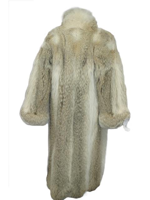 Coyote Fur Coat >> Coyote Fur Coat Women S Large Estate Furs