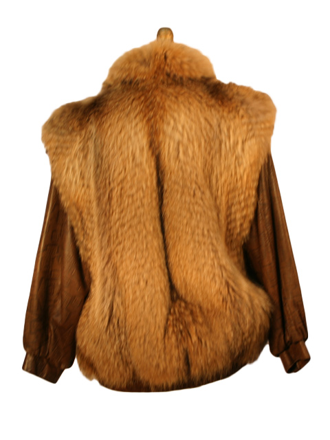 Tanuki Vest with Removable Leather Sleeves