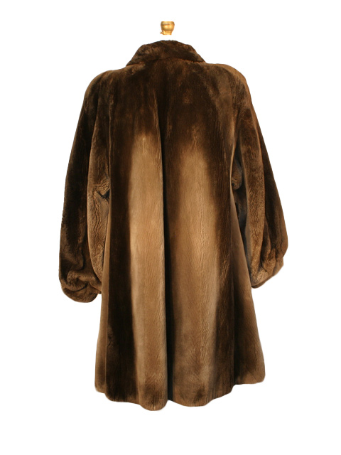 8529f12aa Sheared Beaver Fur Stroller - Women's Large - Brown | Estate Furs