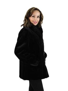 Sheared Mink Fur Reversible Jacket