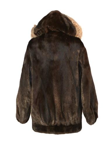 Mink Fur Parka w/ Fox Fur Hood