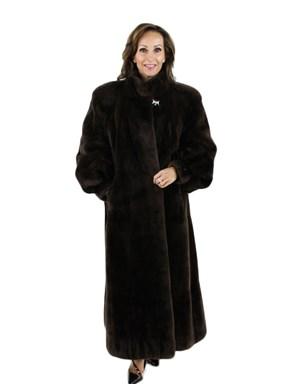 Sheared Beaver Fur Coat