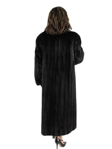 Ranch Mink Fur Coat w/ Shawl Collar