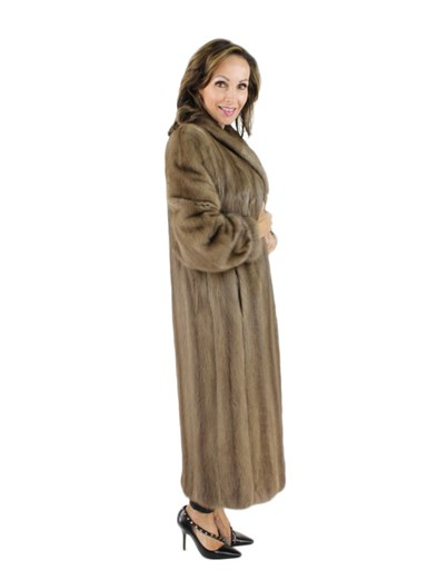 Autumn Haze Mink Fur Coat