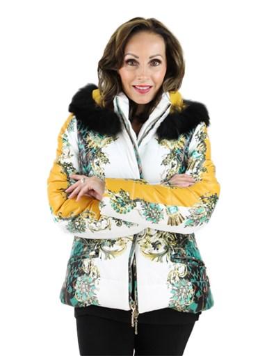 Fabric w/ Fox Jacket