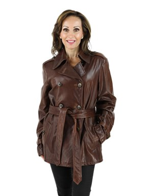Leather Stroller - Women's Extra Small - Sable Brown