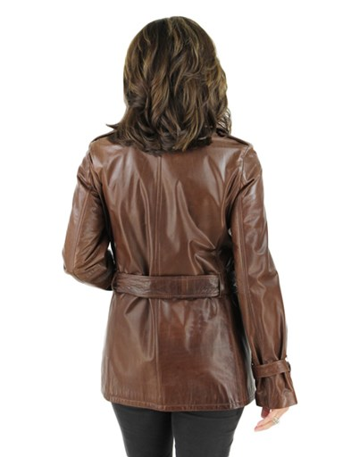 Leather Stroller - Women's Large - Sable Brown