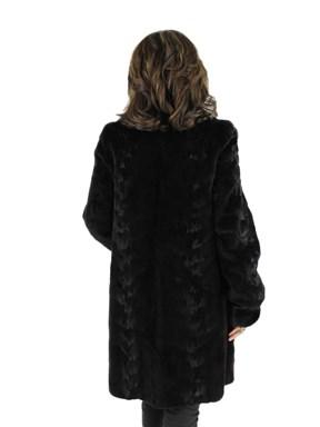 Reversible Sheared Mink Fur Stroller