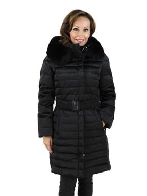 Ski Garment Parka w/ Fox Fur Hood
