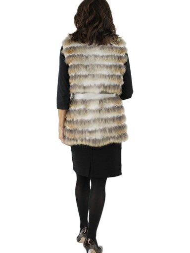 Coyote Fur w/ Rabbit Vest