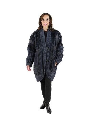Mink Fur Section Stroller