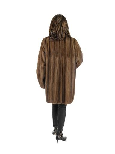 Woman's Lunaraine Female Mink Fur Stroller